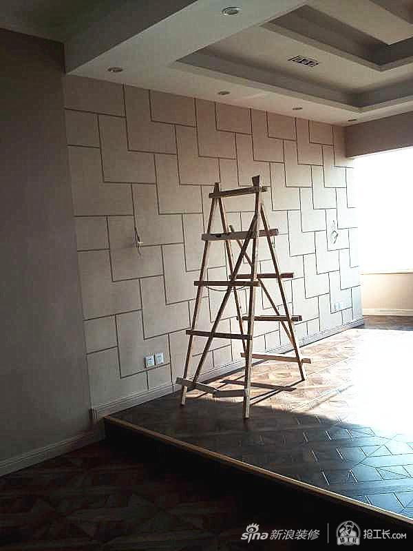 200平复式楼翻新装修