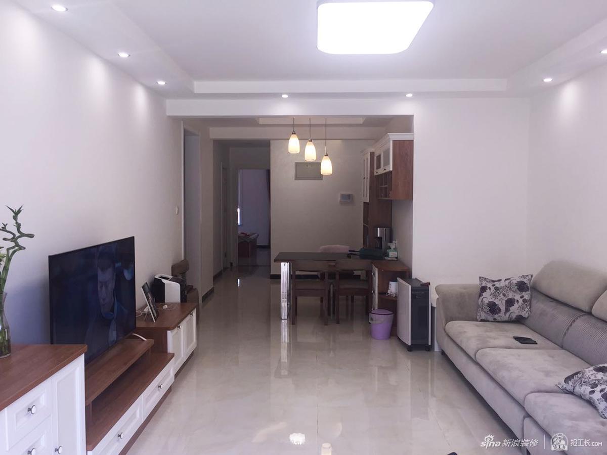 60平米简约风格一居室