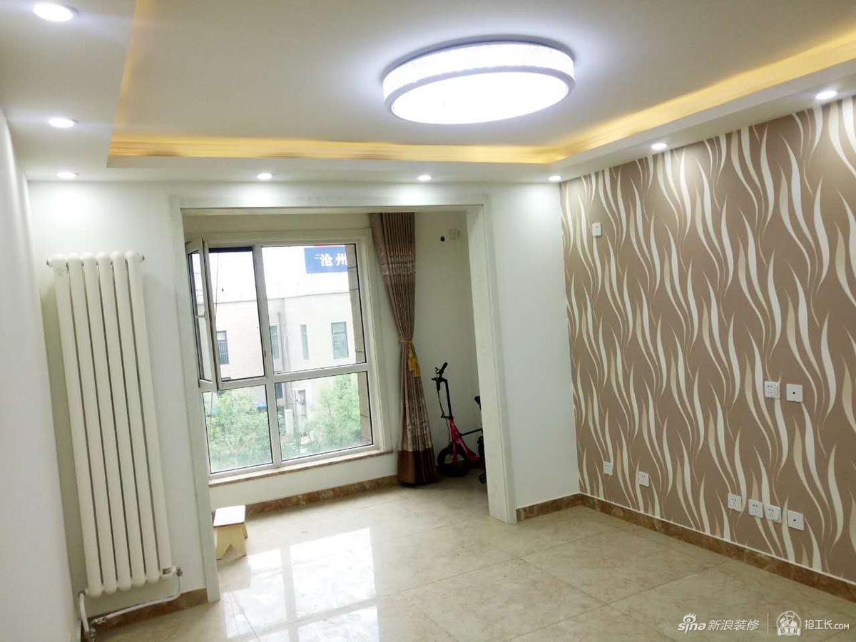 70平米现代简约两居室