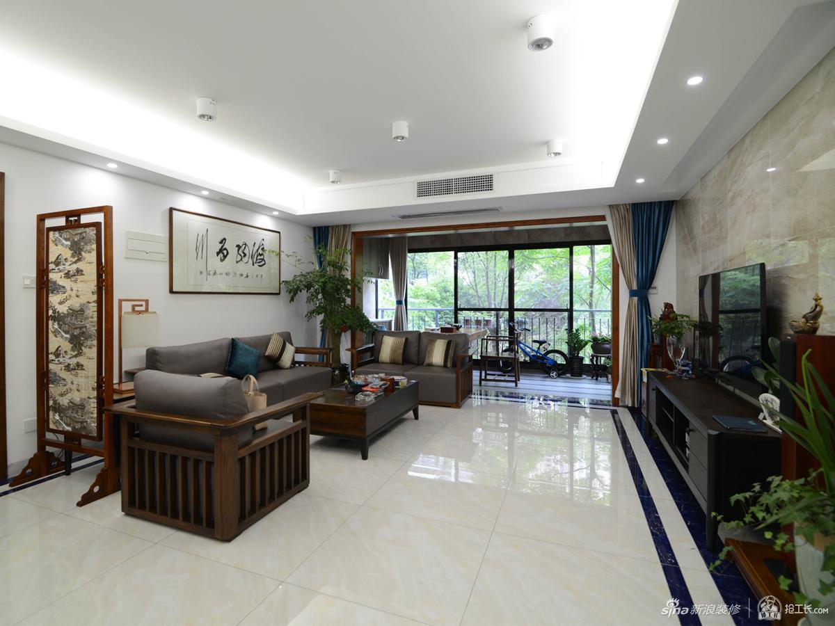 135平新中式四居室