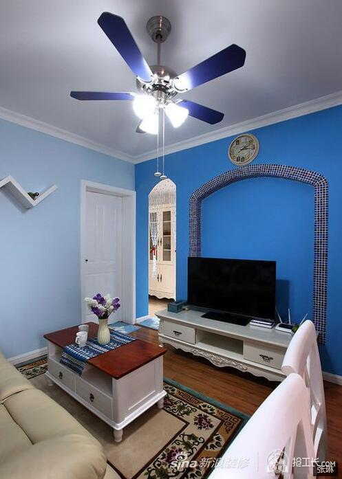 55平地中海风格一居室