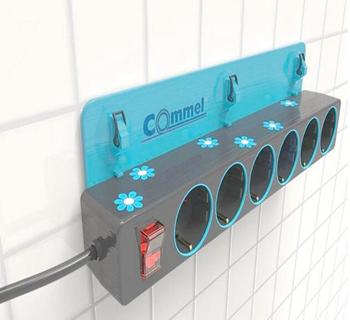 厨房电插板安装示意图