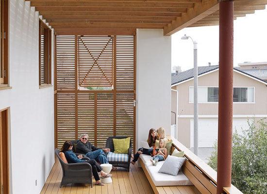 【家装设计】20款别样阳台装修