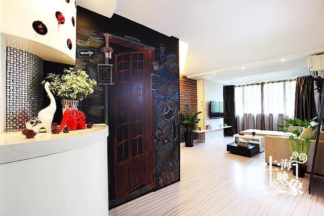 简约 一居 客厅图片来自上海映象设计-无锡站在【高清】半包5万打造68平一居蚂蚁之家80的分享