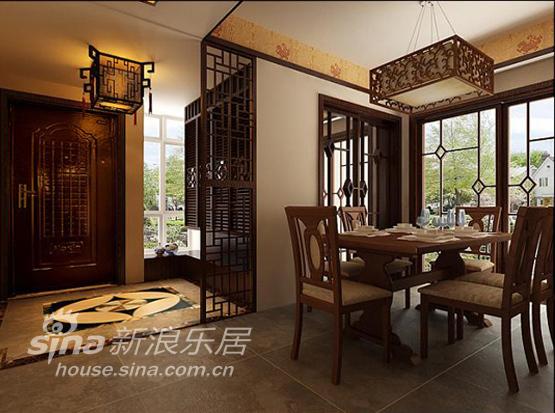 中式 二居 餐厅图片来自用户2757926655在奥林官邸 精彩中式65的分享