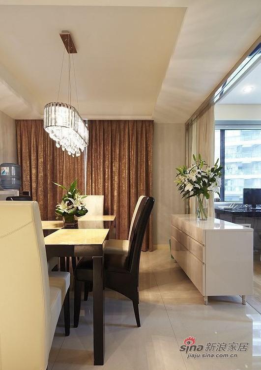 简约 三居 餐厅图片来自用户2737759857在160平方俏皮有爱大宅20的分享