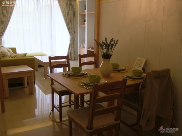 田园 三居 餐厅图片来自幸福空间在2.9万浪漫英国风90平优雅98的分享