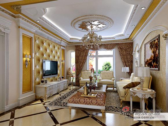 欧式 三居 客厅图片来自用户2746869241在豪华欧式三居40的分享