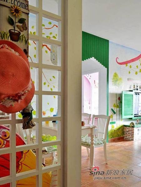 简约 二居 其他图片来自佰辰生活装饰在13万装85平色彩斑斓童话家23的分享
