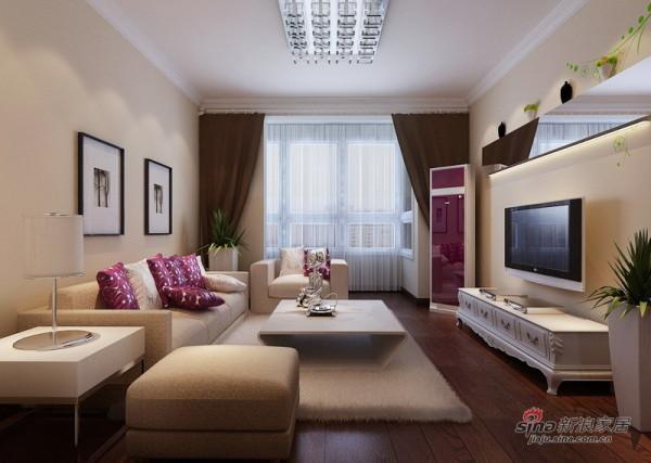 客厅设计全景