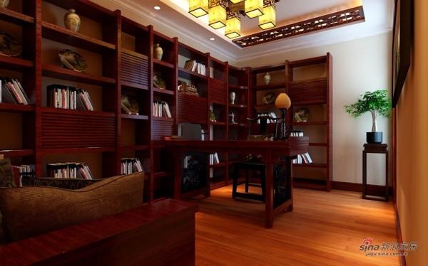 中式雅韵书房设计
