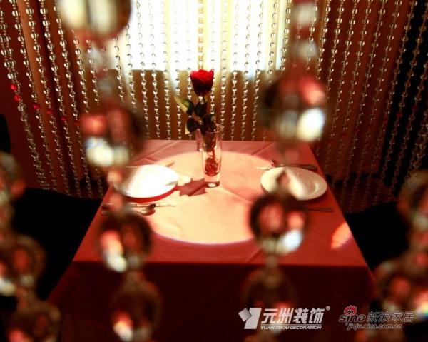 情侣餐厅-元洲装饰-4008981997