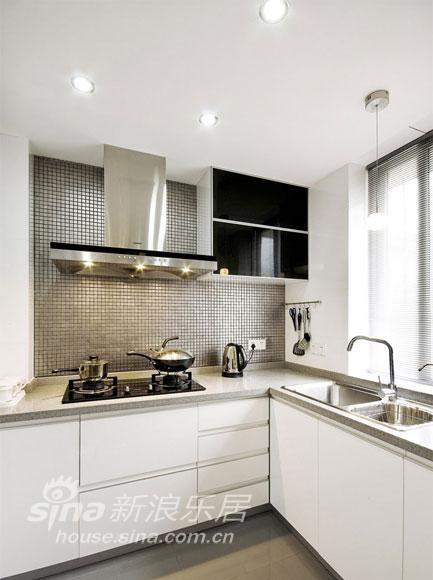 简约 二居 厨房图片来自用户2557010253在绝美素色两居56的分享