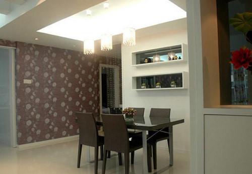 简约 三居 餐厅图片来自用户2738093703在132平米薰衣草清新家居3居室63的分享