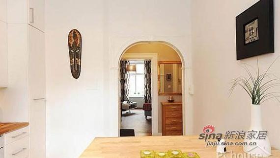 北欧 一居 餐厅图片来自用户1903515612在36平单身男人帮简约现代公寓80的分享
