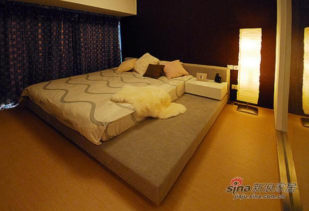 现代 三居 卧室图片来自佰辰生活装饰在白领光影打造82平现代简约家71的分享