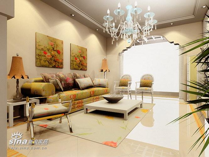 欧式 三居 客厅图片来自用户2746869241在欧式风格的三室两厅34的分享