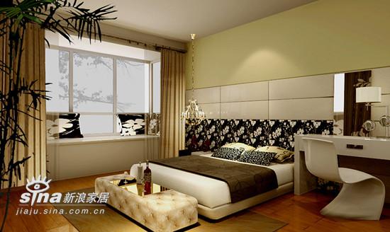 简约 四居 卧室图片来自用户2737759857在融科橄榄城39的分享