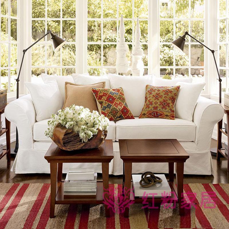 沙发 白色 宜家图片来自用户2746953981在现代美式的分享