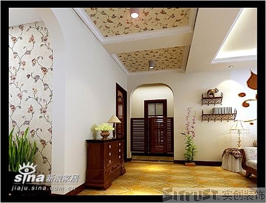 欧式 三居 玄关图片来自用户2746953981在实创装饰东方夏威夷99的分享