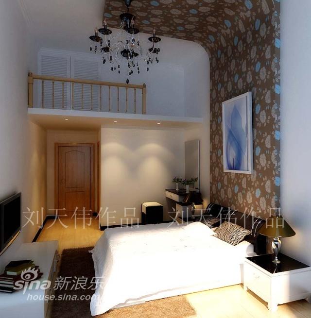 简约 三居 卧室图片来自用户2557010253在6万2元缔造神话般的133平米简约舒适爱家49的分享