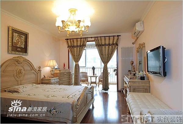 欧式 三居 卧室图片来自用户2557013183在实创装饰中艺家属楼12的分享