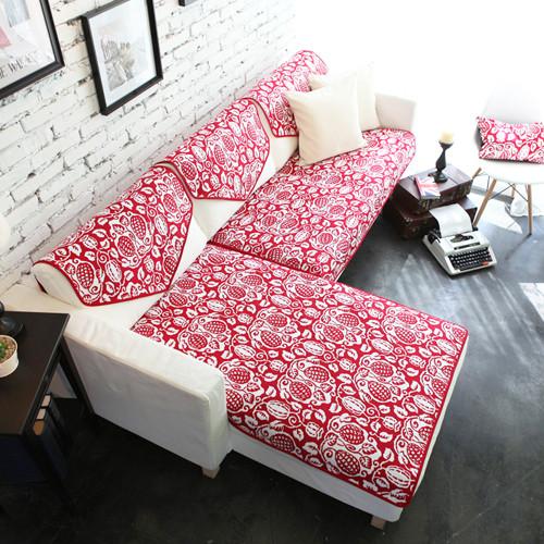 2012夏天/季时尚沙发垫 沙发坐垫 沙发巾 田园布艺 双面定做 很甜美