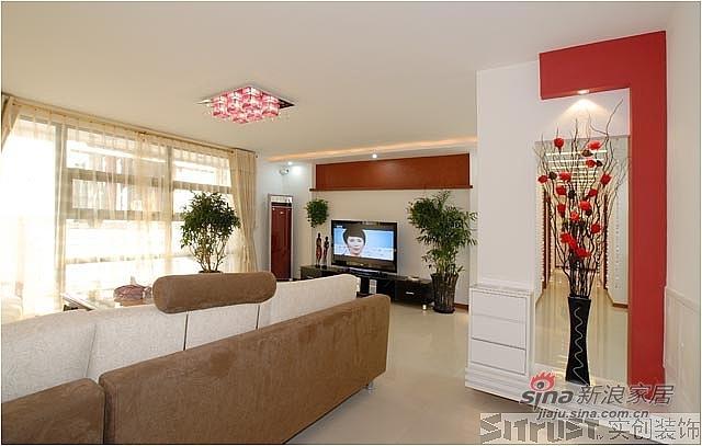 简约 四居 客厅图片来自用户2557979841在远洋山水温馨四居34的分享