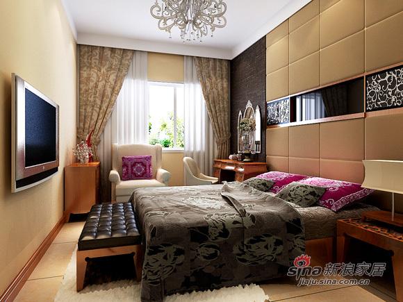 简约 别墅 卧室图片来自用户2557010253在6.8万超值打造230平别墅49的分享