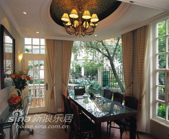 中式 别墅 餐厅图片来自用户2757926655在环湖庄园50的分享