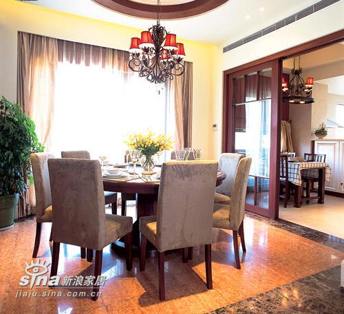 其他 别墅 餐厅图片来自用户2558746857在经典英式样板房 弥漫沉静悠闲生活空间感88的分享