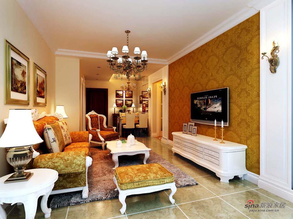 欧式 二居 客厅图片来自用户2746953981在90平【国风上观】简欧风格大诠释87的分享