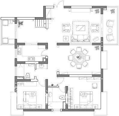 田园 别墅 客厅图片来自用户2737946093在听潮豪园61的分享