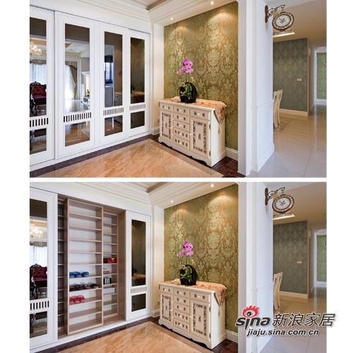 新古典 三居 玄关图片来自用户1907664341在165平古典欧式奢华3房2厅 不计成本砸钱豪装34的分享