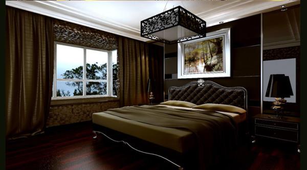 现代简约风格--卧室效果图