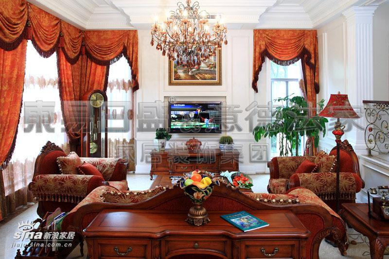欧式 别墅 客厅图片来自用户2772856065在江南诱惑吹入欧式别墅69的分享