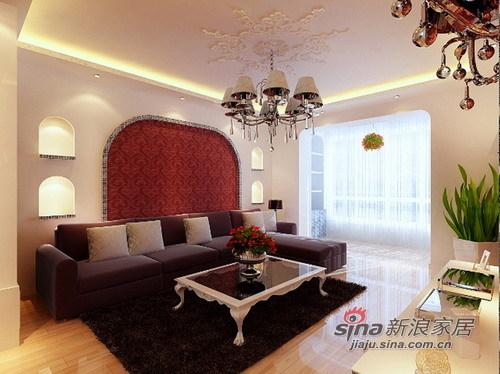 欧式 三居 客厅图片来自用户2746869241在关于浪漫、温馨,yes  i do48的分享