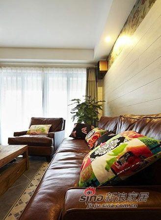 简约 二居 客厅图片来自用户2738829145在6.5W打造城建美庭现代简约风格43的分享