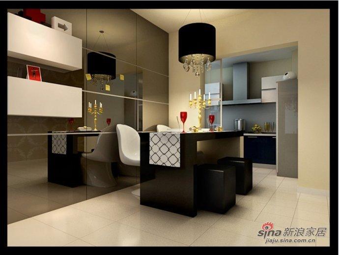 简约 二居 餐厅图片来自用户2738829145在自由生活76平米简约家居设计78的分享