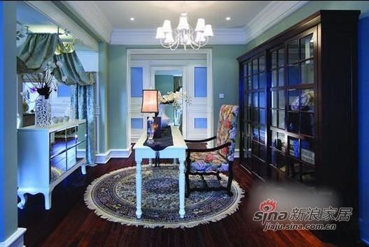 地中海 复式 书房图片来自用户2757320995在美人鱼的奢华世界 82平方梦幻感蓝色复式家装41的分享