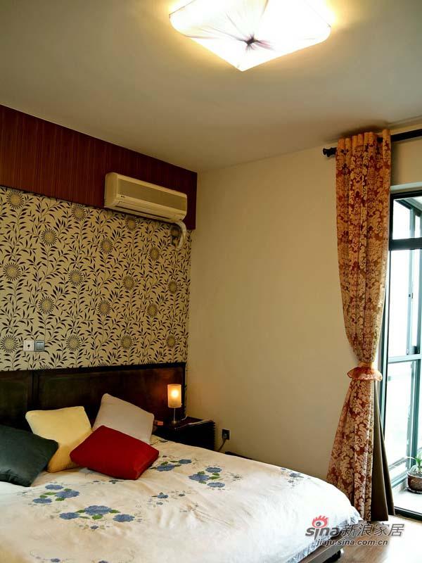 中式 三居 客厅图片来自用户1907662981在120平米新中式时尚大三居53的分享