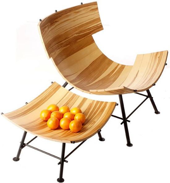 创意卧椅,坐上去会是什么感觉呢?