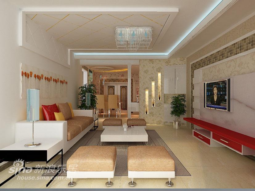 简约 三居 客厅图片来自用户2737759857在山西大同绿洲高层56的分享