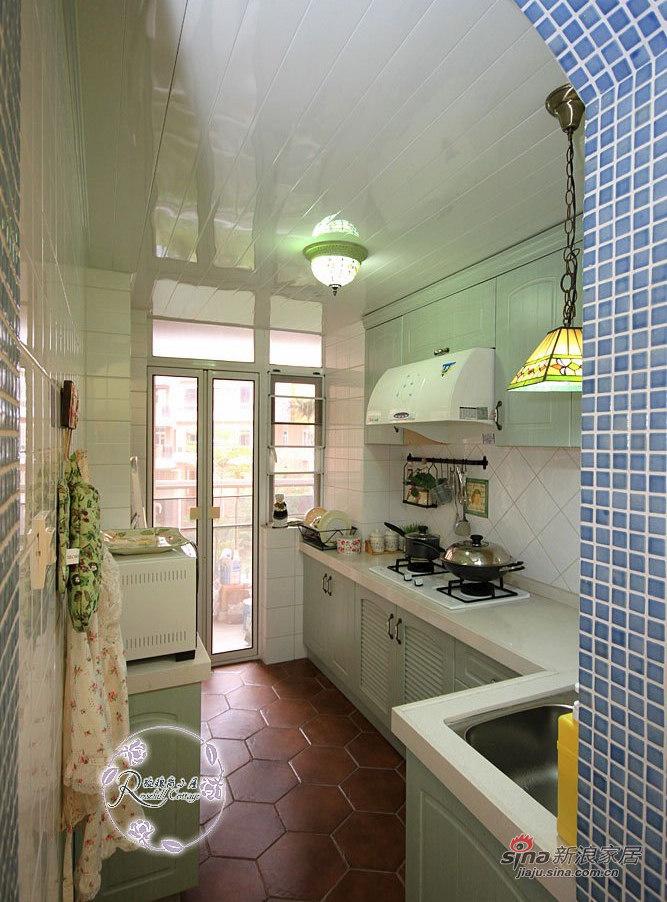 田园 三居 厨房图片来自用户2557006183在88平花18万打造英式乡村屋31的分享