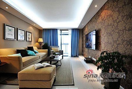 简约 二居 客厅图片来自用户2738813661在10万装76平甜蜜小窝洋溢幸福75的分享