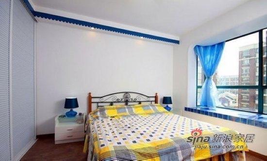地中海 二居 卧室图片来自用户2757320995在4.8万元房奴超省钱装75平2室1厅24的分享