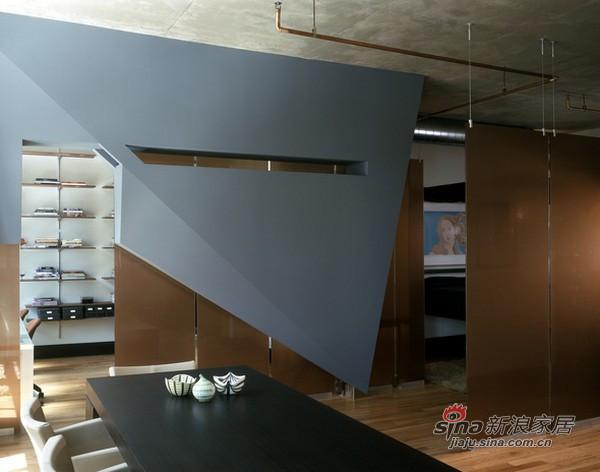 简约 复式 客厅图片来自用户2738820801在美国Dynamic现代公寓设计57的分享