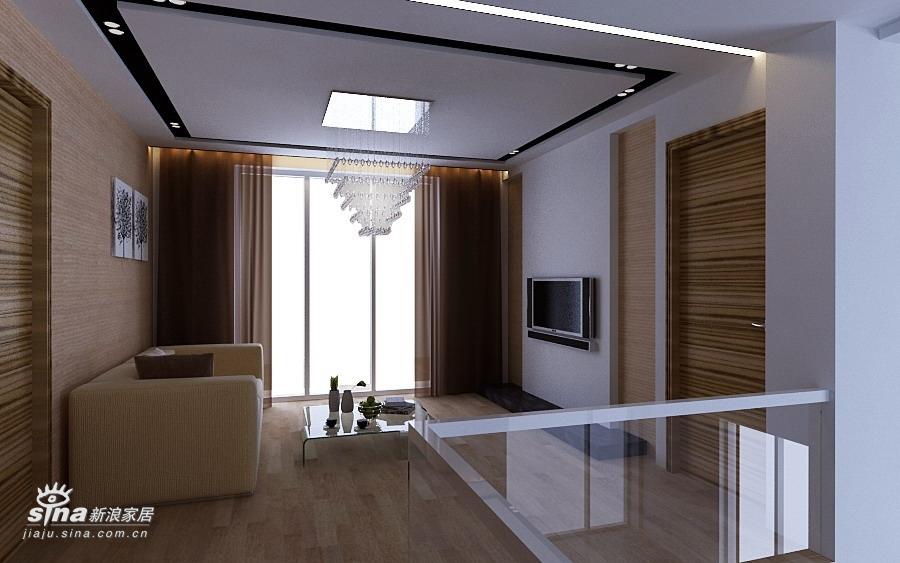 简约 别墅 客厅图片来自用户2737759857在360平达观别墅极简风格36的分享