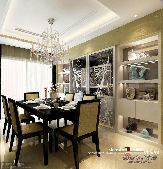 简约 三居 餐厅图片来自用户2558728947在白领夜沉呤140平高雅格调29的分享