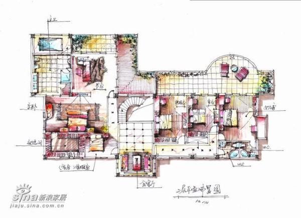 简约 别墅 客厅图片来自用户2737782783在顺德君兰高尔夫别墅88的分享